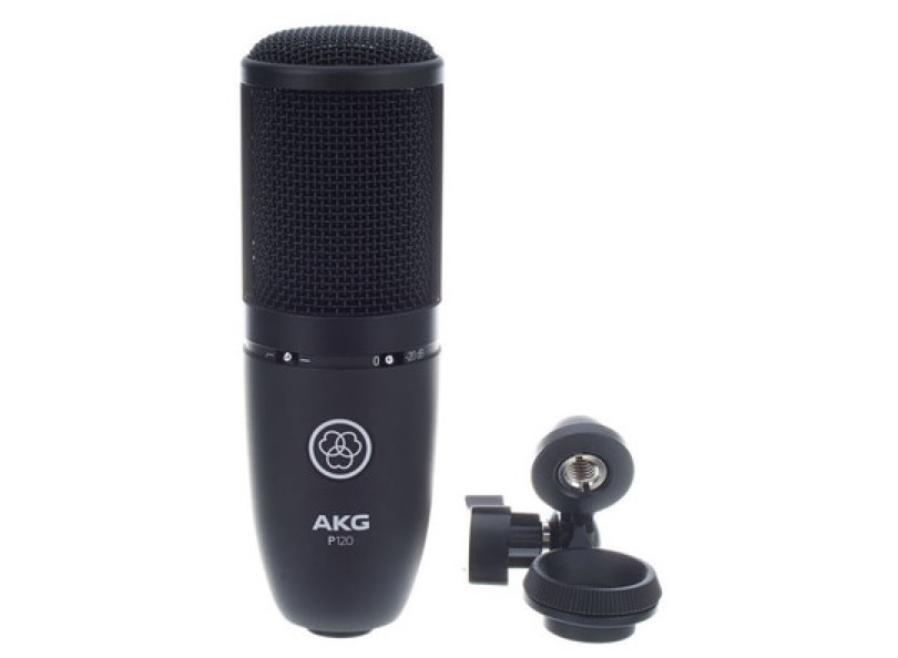 Akg P120 With Clipper