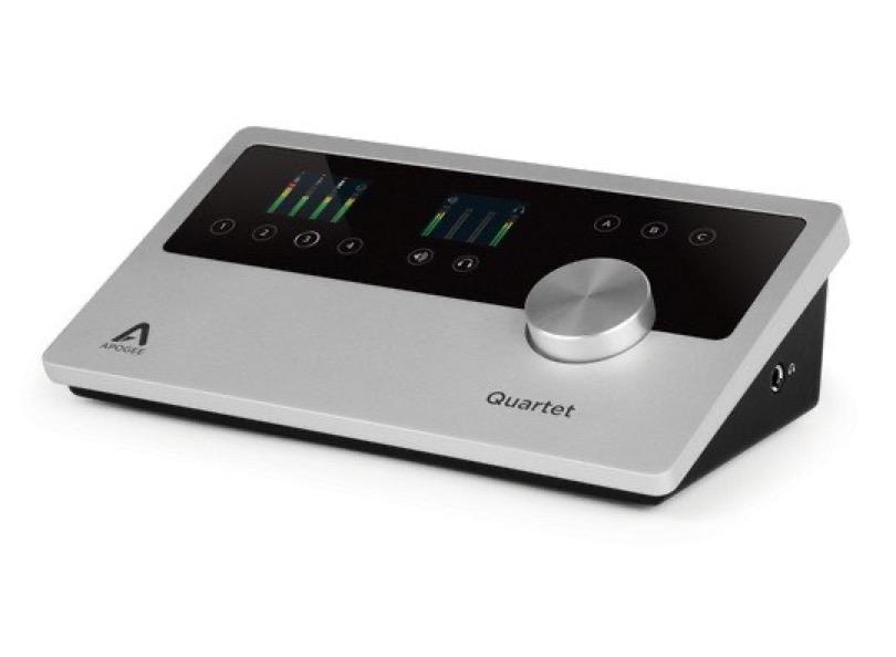 Apogee Quartet For Ipad Mac Angled