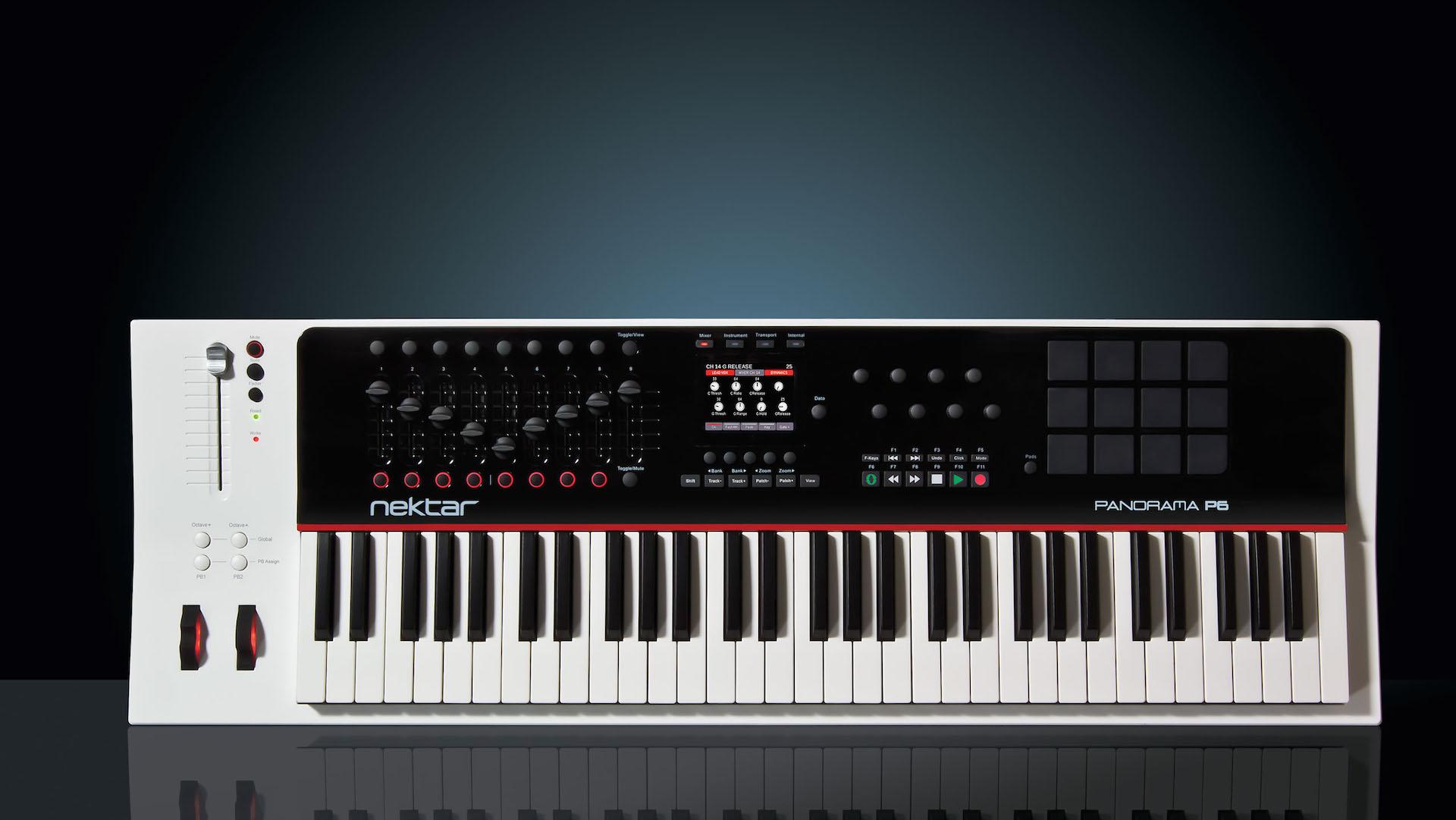 Nektar Tech - MIDI Controler - P6 - Illu Titre