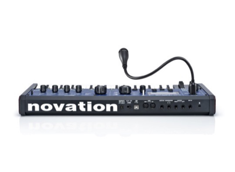 Novation - MiniNova - Arrière - Micro Vocoder