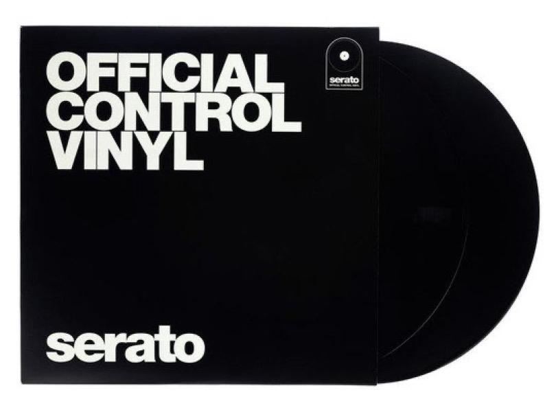 Serato Vinyl Performance Series Black With Cover