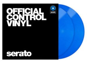 Serato Vinyl Performance Series Blue With Cover