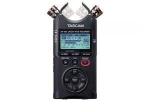 tascam-dr-40x-mics-position-front