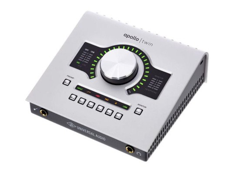 Universal Audio Apollo Twin Duo Usb Left Angle
